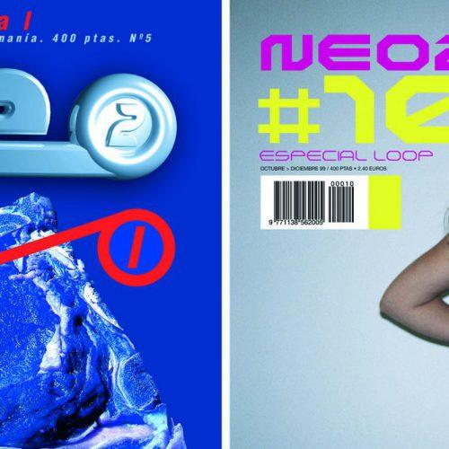 Portadas de los números 5 y 10. La portada del número 5 tiene el precio en pesetas: 400 pts. La foto de la portada azul es de Andrea Savini y la foto de la portada número 10 es de Andrew Hobbs