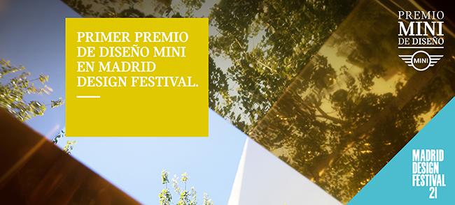 MINI PRESENTA, EN EL MARCO DE MADRID DESIGN FESTIVAL, EL PRIMER PREMIO MINI DE DISEÑO