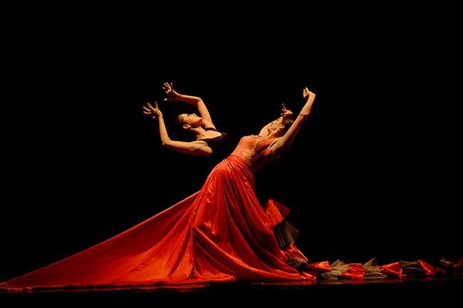 Presentación de la exposición Carlos Saura y la danza en el Fernán Gómez. Centro Cultural de la Villa